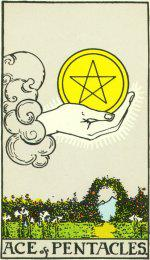 The Ace of Pentacles