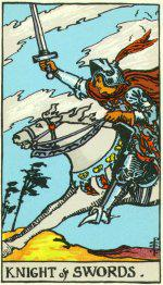 The Knight of Swords