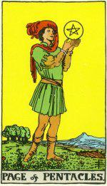The Page of Pentacles