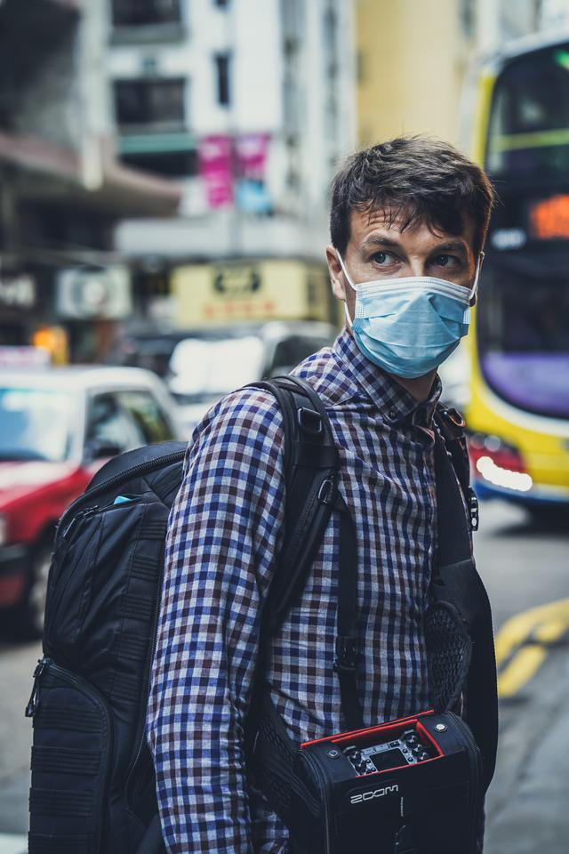 Face protection coronavirus in Hong Kong!  If you're new to my Unsplash account and you're curious about how we can travel around the world and record sounds full-time, just follow us here on Instagram @freetousesounds because we love to talk about it and share our journey!  If you are going to use this photo and you like to say thank you, I'm the founder of one of the largest sound libraries in the world. Feel free to check it out and buy one of my sound libraries at  www.freetousesounds.com. Thank you!