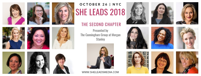 Announcing She Leads 2018
