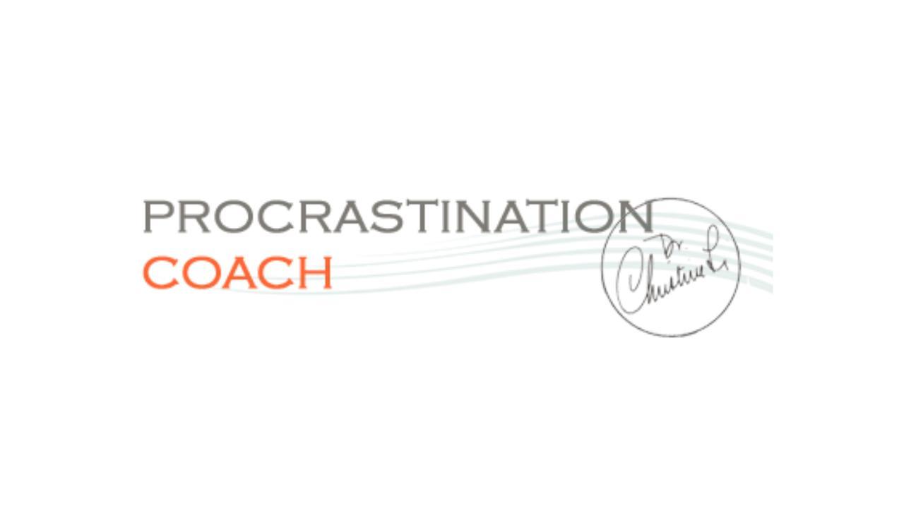 Procrastination Coach by Dr. Christine Li