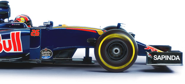 Red Bull Sponsored F1 Car
