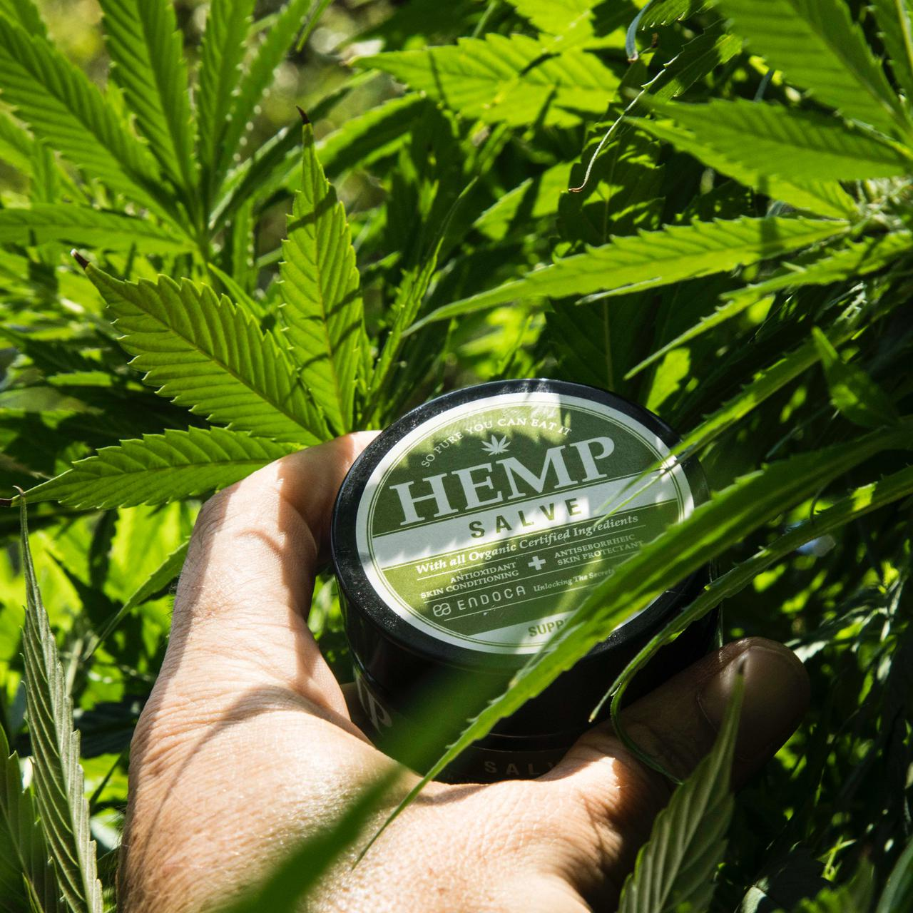 Hemp Salve jar