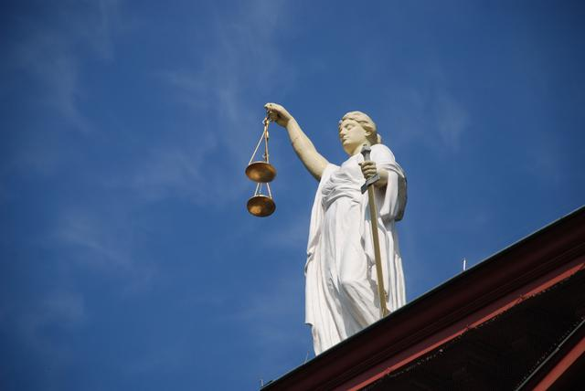 lady justice holding the scales