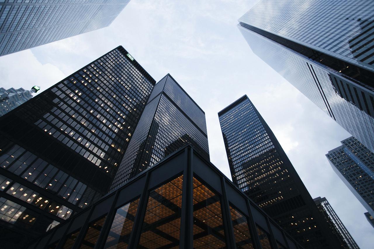 architecture building business city